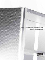 Sistema di scaffalature SchulzUNIFLEX Programma ... - Schulz Speyer