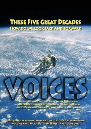 voices-2012-2 - EATWOT's International Theological Commission