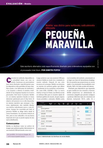 Pequeña Maravilla: [PDF, 855 kB] - Linux Magazine