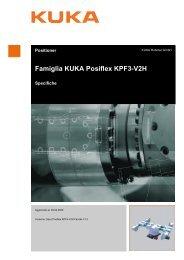Famiglia KUKA Posiflex KPF3-V2H - KUKA Robotics