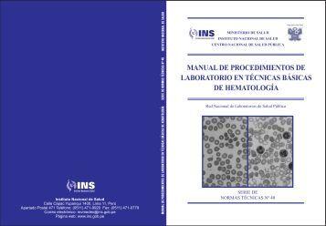 Procedimientos de laboratorio en Hematología - BVS Minsa ...
