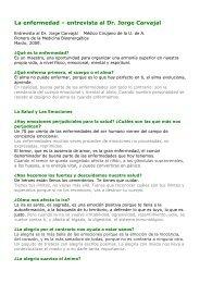12-La enfermedad - Jose Carvajal - Vivir es Crear