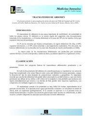 TRAUMATISMO DE ABDOMEN - IntraMed