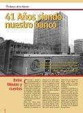 41 Años siendo nuestro banco 41 Años siendo nuestro banco - Page 6