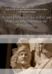 Anais do III Encontro Nacional de Estudos sobre o Mediterrâneo ...