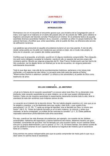 DON Y MISTERIO - Corazones.org