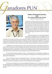 Dr. Carlos Prieto - dgapa unam - Universidad Nacional Autónoma ...