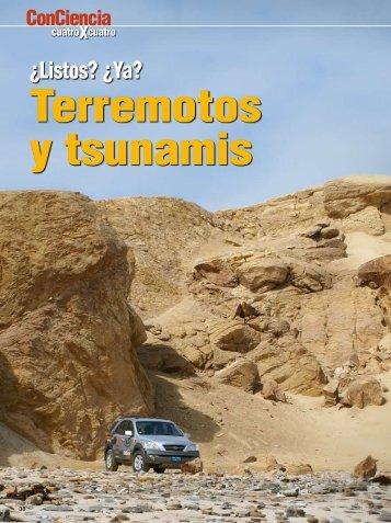 ¿Listos? ¿Ya? Terremotos y Tsunamis - Instituto Geofísico del Perú