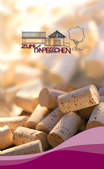 Herzlich Willkommen im Kapellchen - Weingut Udo Ott
