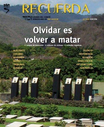 Octava Edición Revista Recuerda 2011 - CAIV