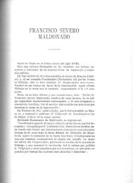 FRANCISCO SEVERO MALDONADO - Bicentenario