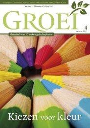 2011-4 Kiezen voor kleur - Groei