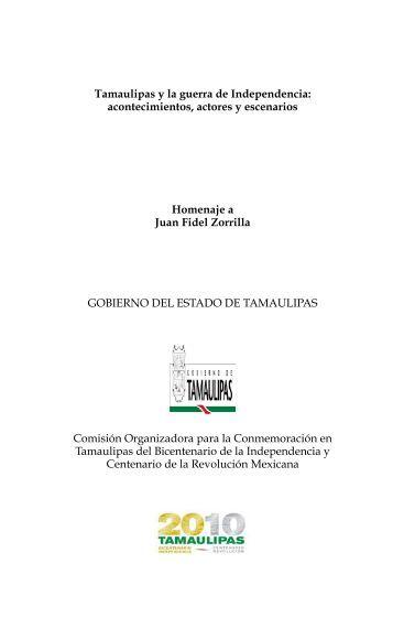 Tamaulipas y la guerra de Independencia - el bicentenario ...