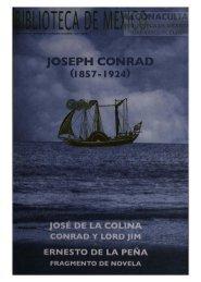 Joseph Conrad - Dirección General de Bibliotecas - Consejo ...