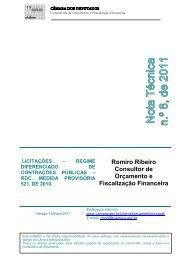 NT - 08 - 2011 - Licitações - Regime Diferenciado de Contratações ...
