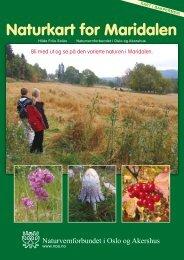 Naturkart for Maridalen - Norges Naturvernforbund
