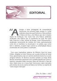 Revista Santa Cruz Ano 74 - 2010 - julho/setembro - Franciscanos ...