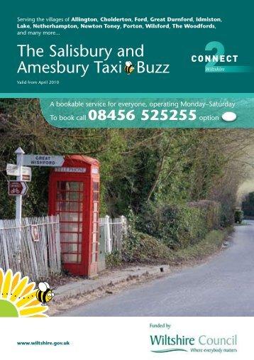 The Salisbury Taxi Service 385kb - Wiltshire Council