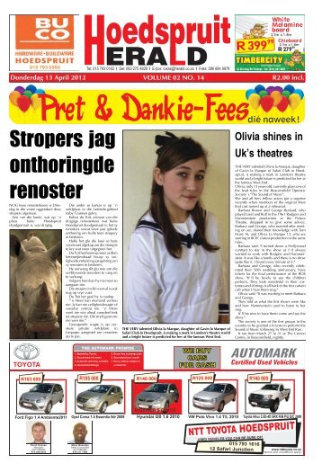 Stropers jag onthoringde renoster - Letaba Herald