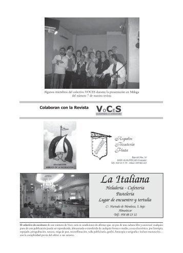 VoCeS Nº9 - Artes Libres