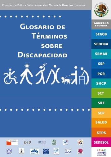 Glosario de Términos sobre Discapacidad - Secretaría de Salud de ...