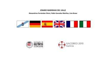 jenaro marinhas del valle - Asociación de Escritores en Lingua Galega