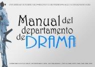Manual del Departamento de Drama - Facultad De Humanidades ...