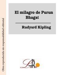 El milagro de Purun Bhagat Rudyard Kipling - Ataun
