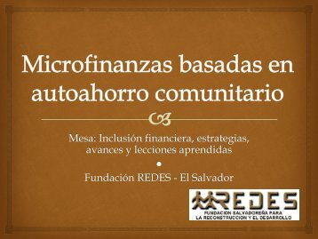 Carlos Cotto, REDES, El Salvador - Eventos