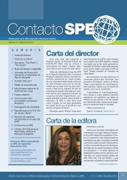 contacto spe 37 - SPE Argentina