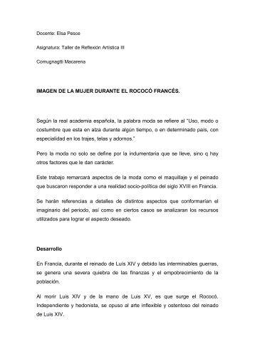 Docente: Elsa Pesce - Universidad de Palermo