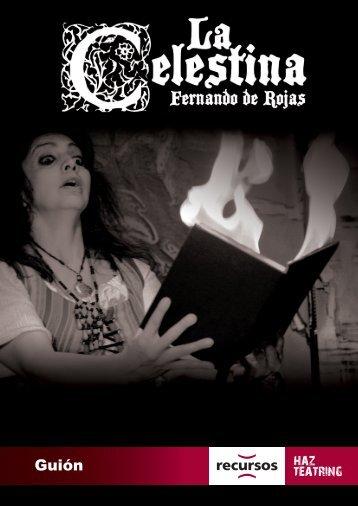 """guión de la celestina - Colegio """"Sagrado Corazón"""""""