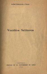 . Vocabas Salitreros - Memoria Chilena