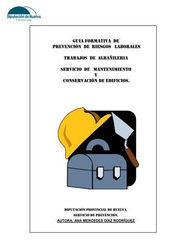 guia formativa de prevención de riesgos laborales trabajos