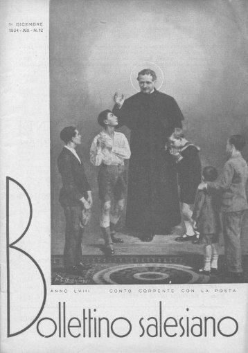 1° DICEMBRE 1934 - XIII - N. 12 - il bollettino salesiano