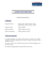 CONSTRUCTIONS MODULAIRES - Marks Container