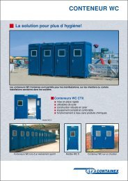 CONTENEUR WC - Marks Container