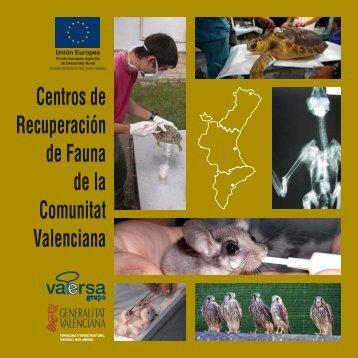 Centros de Recuperación de Fauna de la Comunitat Valenciana