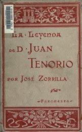 La leyenda de don Juan Tenorio (fragmento) Illus. de J.L. Pellicer