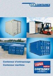 Conteneur d'entreposage Conteneur maritime - Marks Container