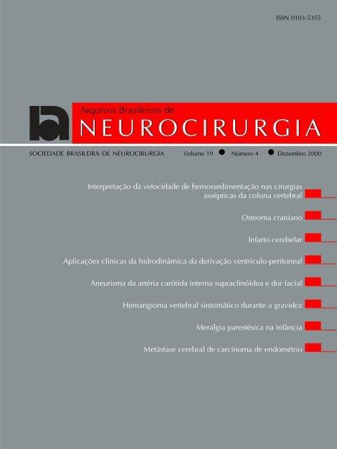 Volume 19 - Número 4 - Dezembro, 2000 - Sociedade Brasileira de ...