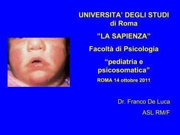 pediatria e psicosomatica - Skuola.net