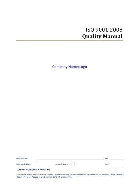 Procedure Manual Template from img.yumpu.com