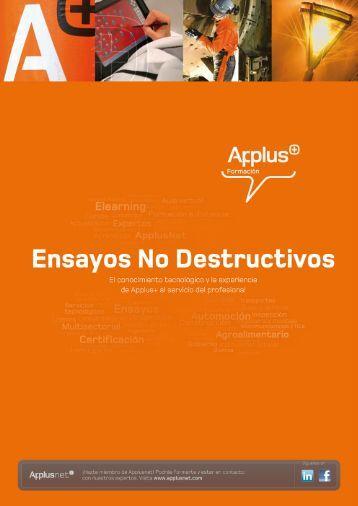 Ensayos No Destructivos - Applus Formación