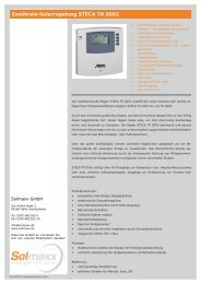 Zweikreis-Regelung STECA TR 0502.indd - Solmaxx