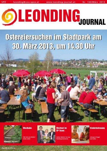 Ostereiersuchen im Stadtpark am 30. März 2013 ... - Leonding - SPÖ
