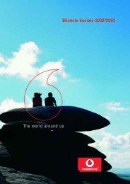 The world around us - Vodafone Italia bilancio di responsabilità ...