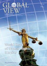 World Court of Human Rights: Utopia? - AFA