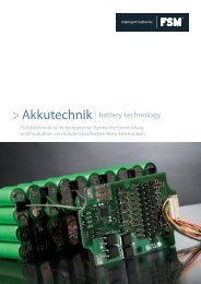 Broschüre Akkutechnik als PDF - Kommunikation & Design
