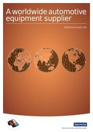 2008 annual report (registration document) - Faurecia